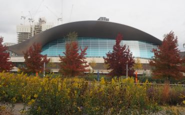 Queen Elizabeth Olympic Park_London Aquatics Centre. Photo Credit: © Ursula Petula Barzey.