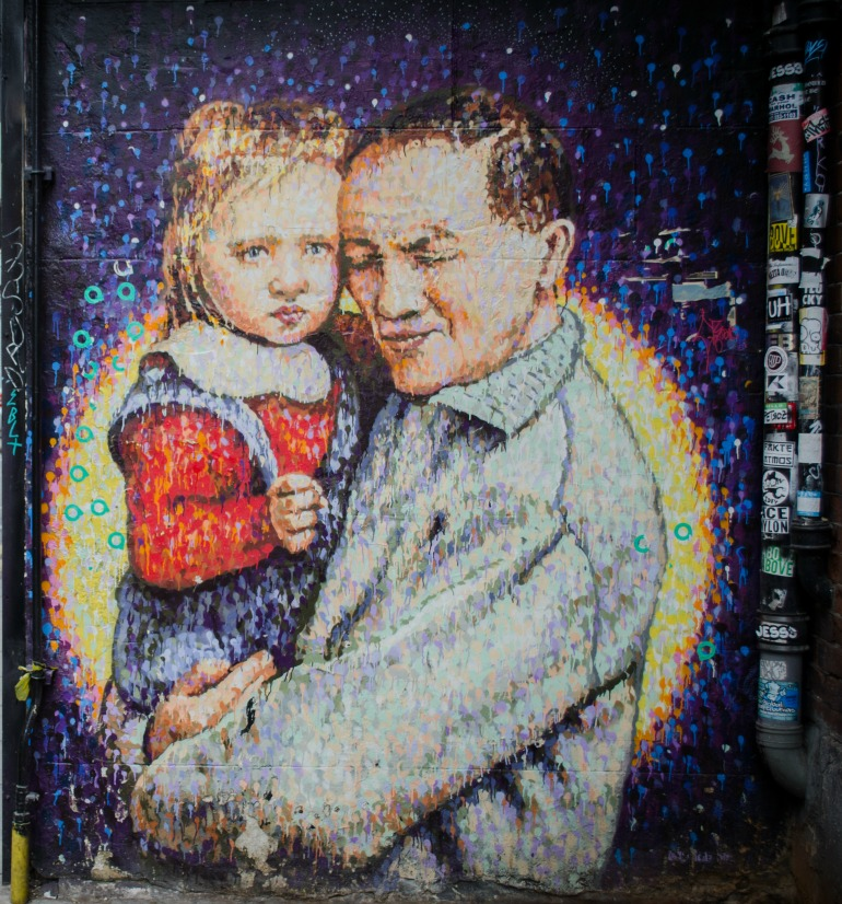 London Street Art: Jimmy C - Joe's kid. Photo Credit: © Alex Lacey.
