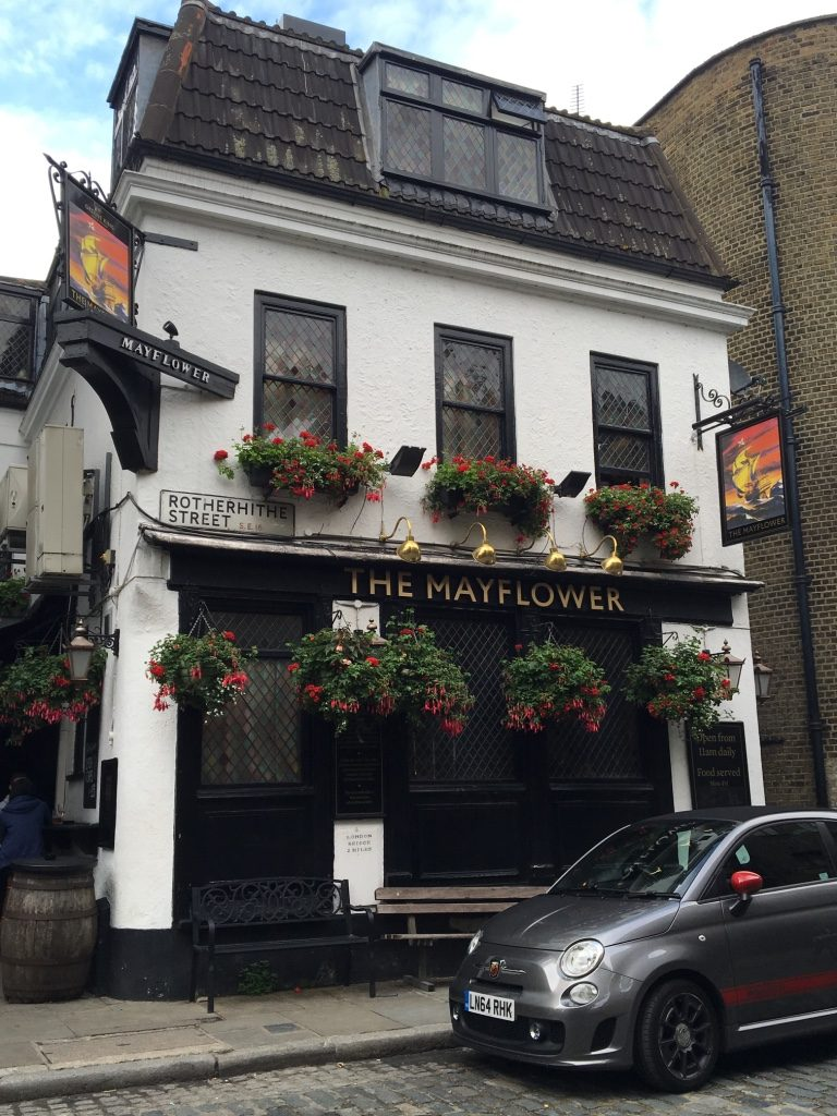 The Mayflower Pub. Photo Credit: © Ursula Petula Barzey.