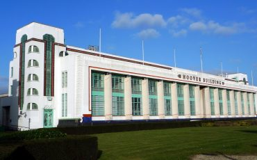 The Hoover Building. Photo Credit: © Ewan Munro via Wikimedia Commons.