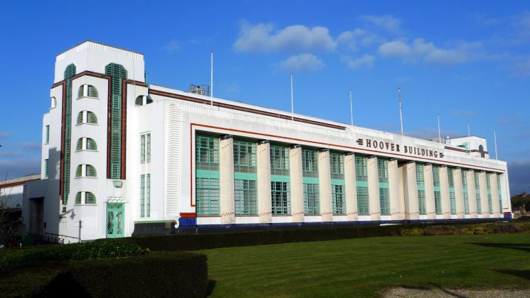 the redevelopment of the art deco hoover building in london guide