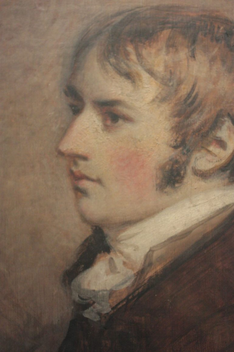 John Constable portrait by Daniel Gardner, 1796. Photo Credit: © Stephencdickson via Wikimedia Commons.