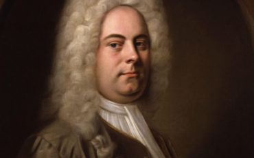George Frideric Handel painting by Balthasar Denner.