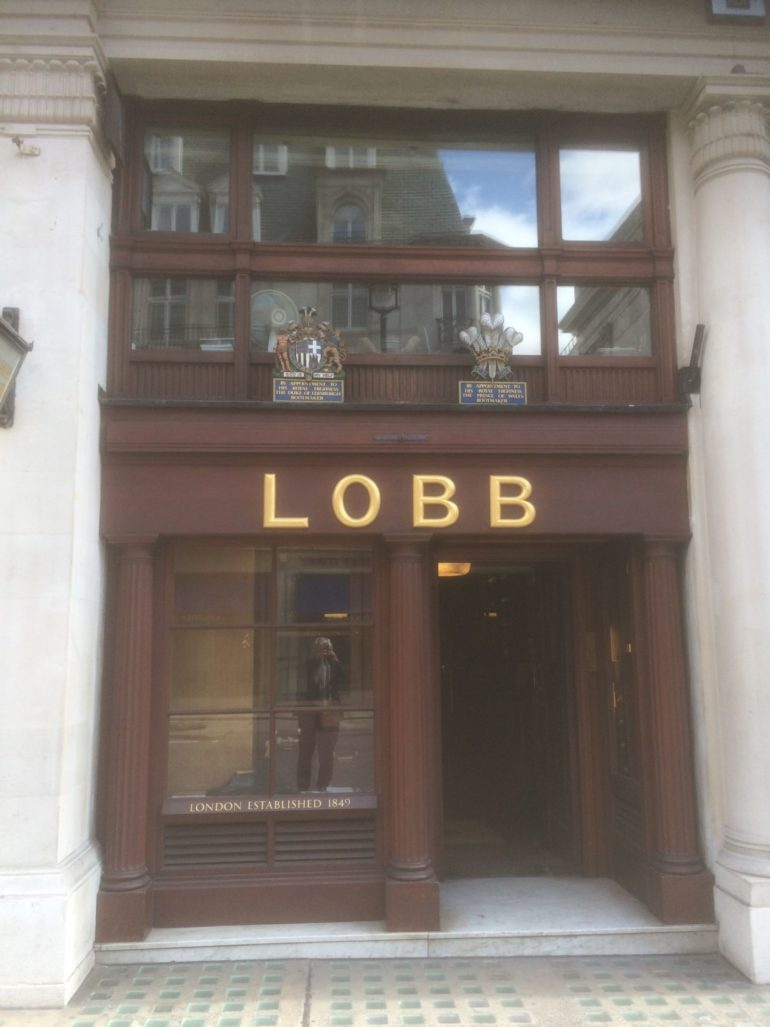London St James's Street: John Lobb Bootmaker. Photo Credit: © Edwin Lerner.