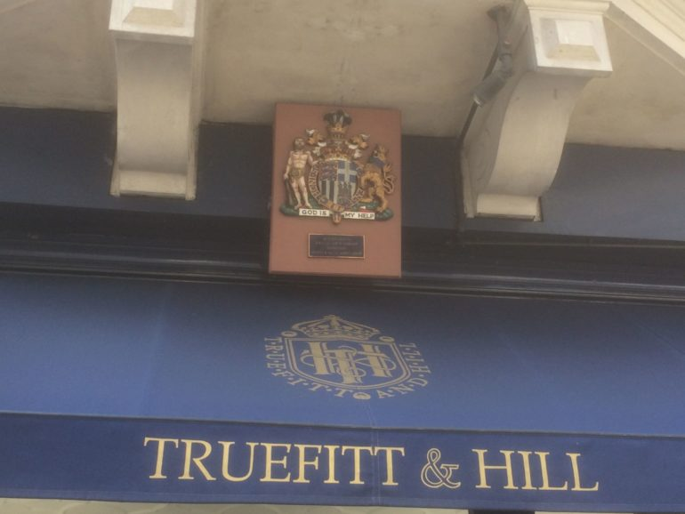 London St James's Street: Truefitt & Hill. Photo Credit: © Edwin Lerner.