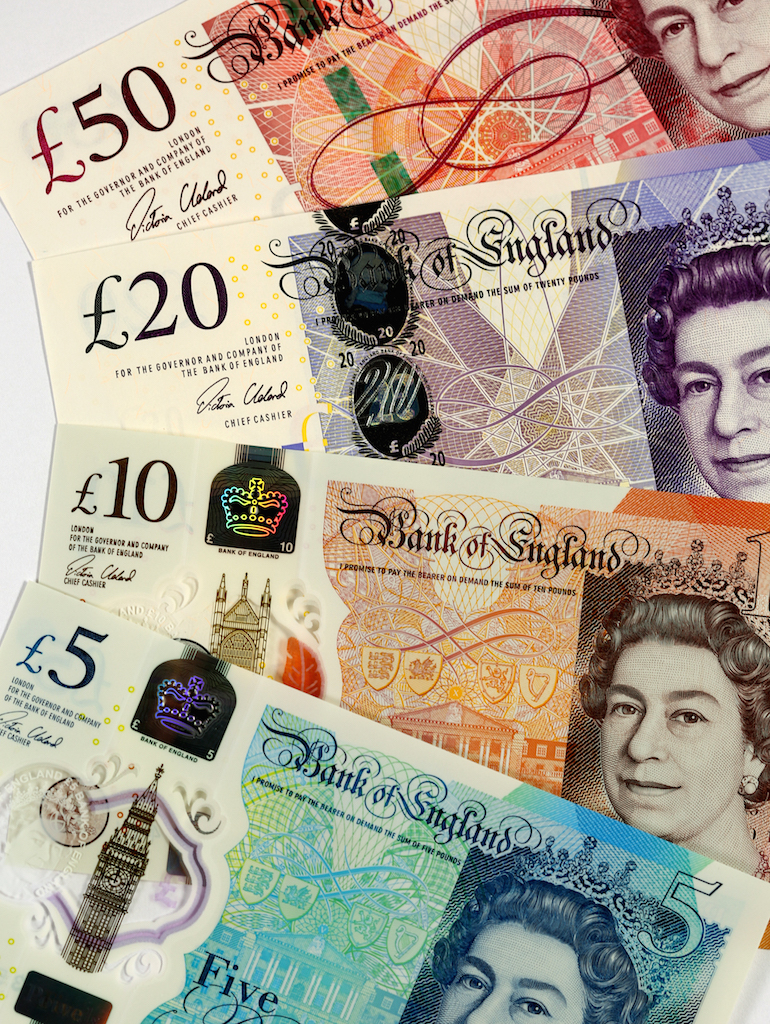 Bank of England: Polymer Notes