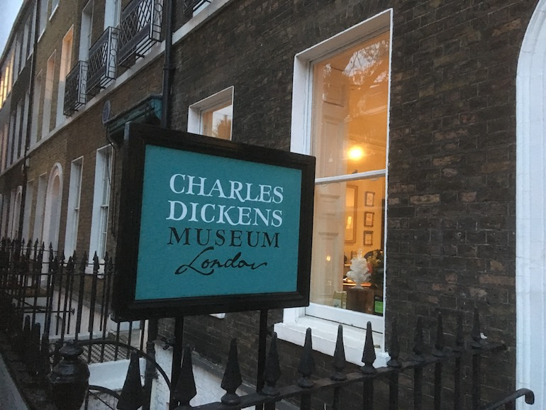 Charles Dickens Museum London. Photo Credit: © Edwin Lerner.