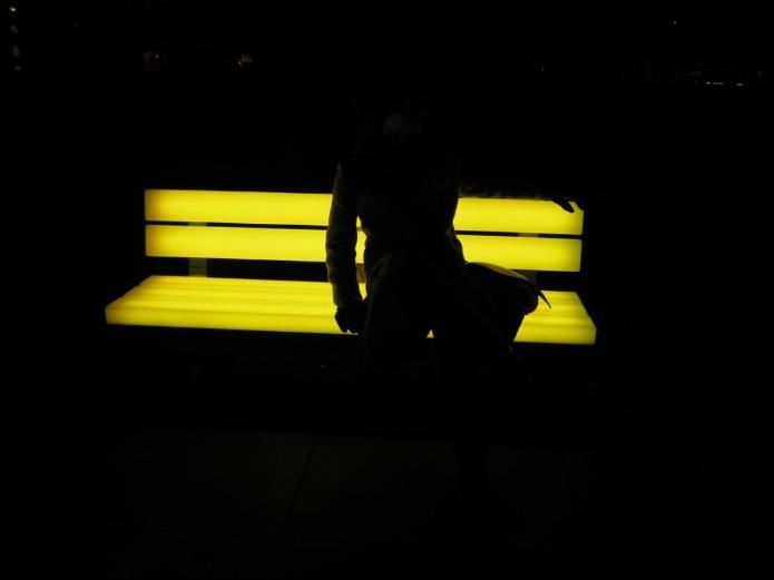 Lightbenches by Bernd Spiecker for LBO LichtBankObjekte. Photo credit: ©Ursula Petula Barzey.
