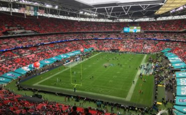 NFL International Series: Wembley Stadium in London. Photo Credit: © Paul Metcalfe.