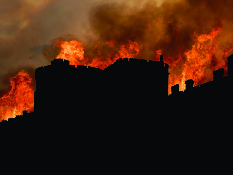Windsor Castle fire