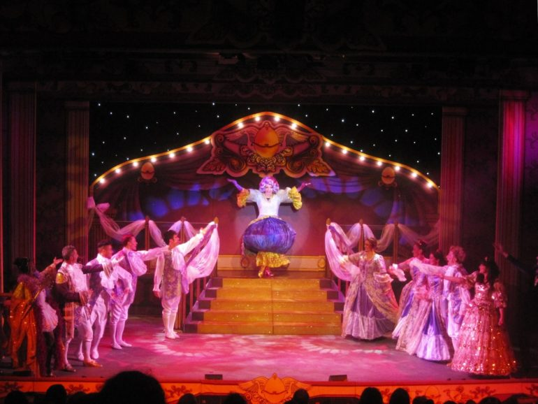 Millfield Theatre Pantomime_Mother Goose. Photo Credit: © Millfield Manager via Wikipedia Commons.