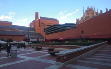 British Library in London: Exterior View. Photo Credit: © Steve Fallon.