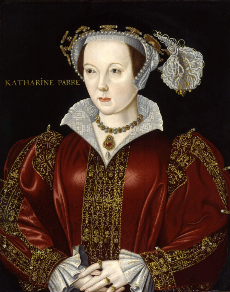 Portrait of King Henry VIII's 6th wife Katherine Parr. Photo Credit: © Public Domain via Wikimedia Commons.