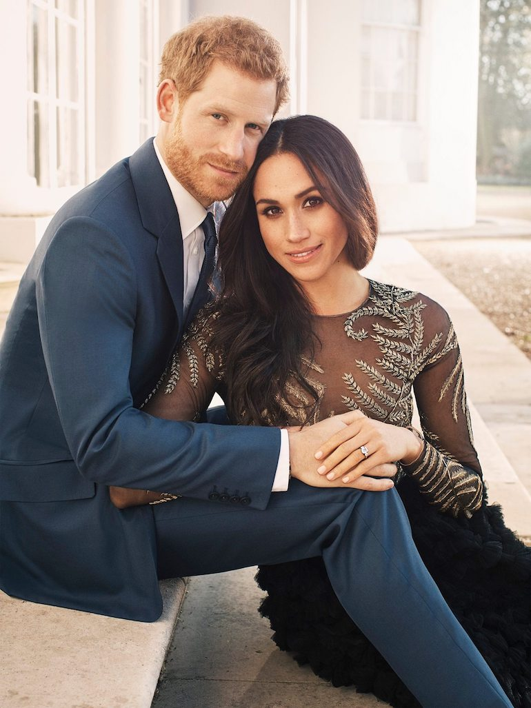 Prince Harry of Wales & Megan Markle_Engagement Photo. Photo Credit: © Alexi Lubomirski via The Royal Family.