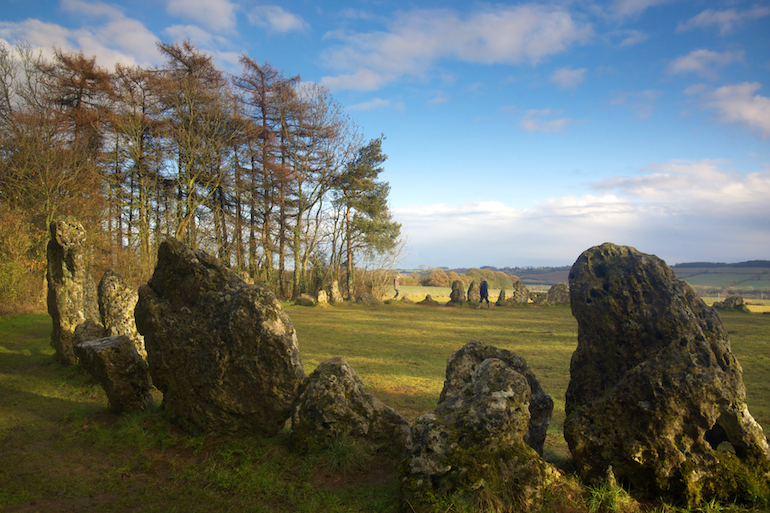 The Cotswolds: Rollright Stones, Warwickshire/Oxfordshire. Photo Credit: © Diana Jarvis via Visit England.