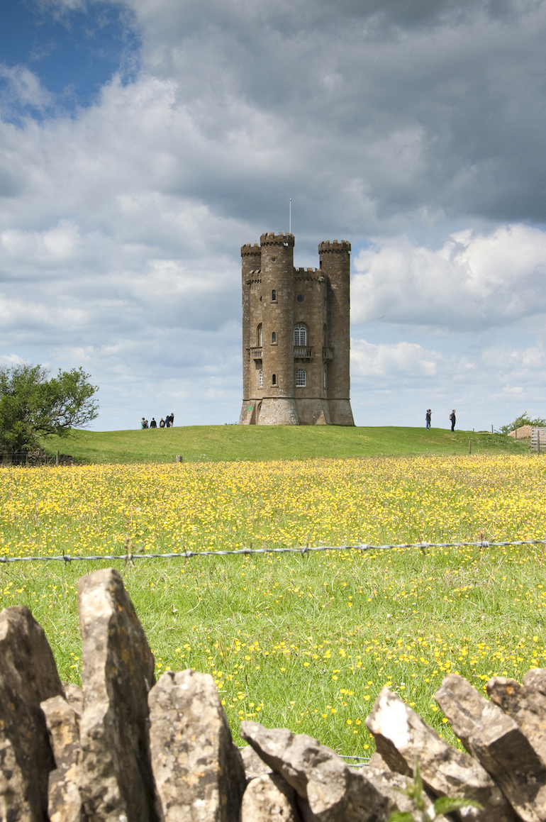 The Cotswolds: The Broadway Tower, Broadway, Worcestershire. Photo Credit: © Diana Jarvis via Visit England.