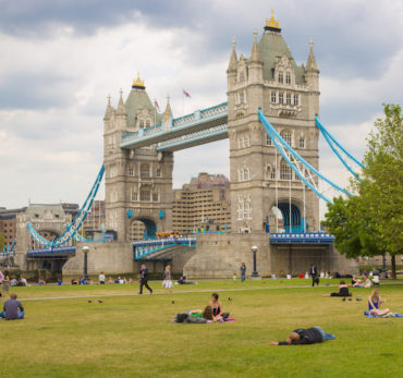 View of Tower Bridge in London. Photo Credit: © Pawel Libera via London & Partners.