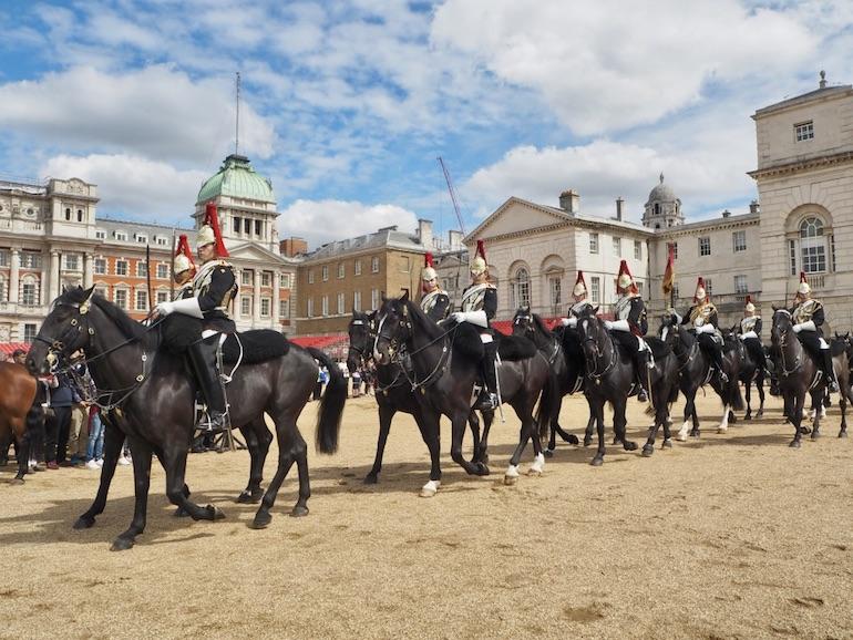 London St James's Park - Horse Guard Parade: Changing of the Guard. Photo Credit: © Ursula Petula Barzey.