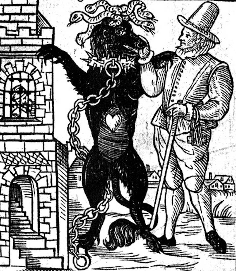The Black Dog of Newgate. Photo Credit: © Public Domain via Wikimedia Commons.