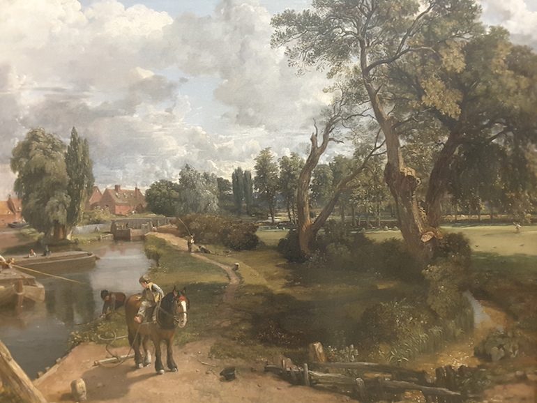 Tate Britain: Flatford Mill by John Constable 1816 - 17. Photo Credit: © Ingrid Wallenborg.