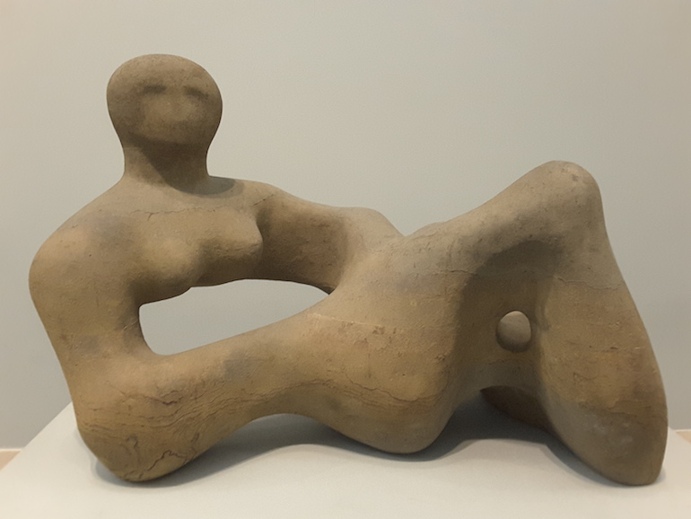 Tate Britain: Recumbent Figure by Henry Moore OM 1938. Photo Credit: © Ingrid Wallenborg.