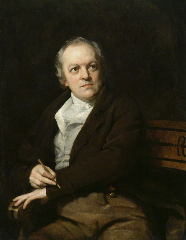 William Blake painting by Thomas Phillips. Photo Credit: © Public Domains via WikiMedia Commons.