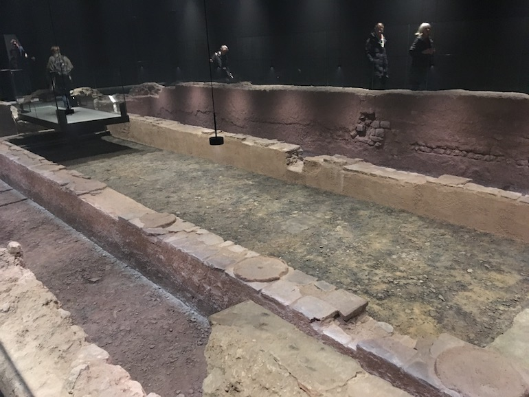 Bloomberg Building in London - Roman Temple of Mithras.