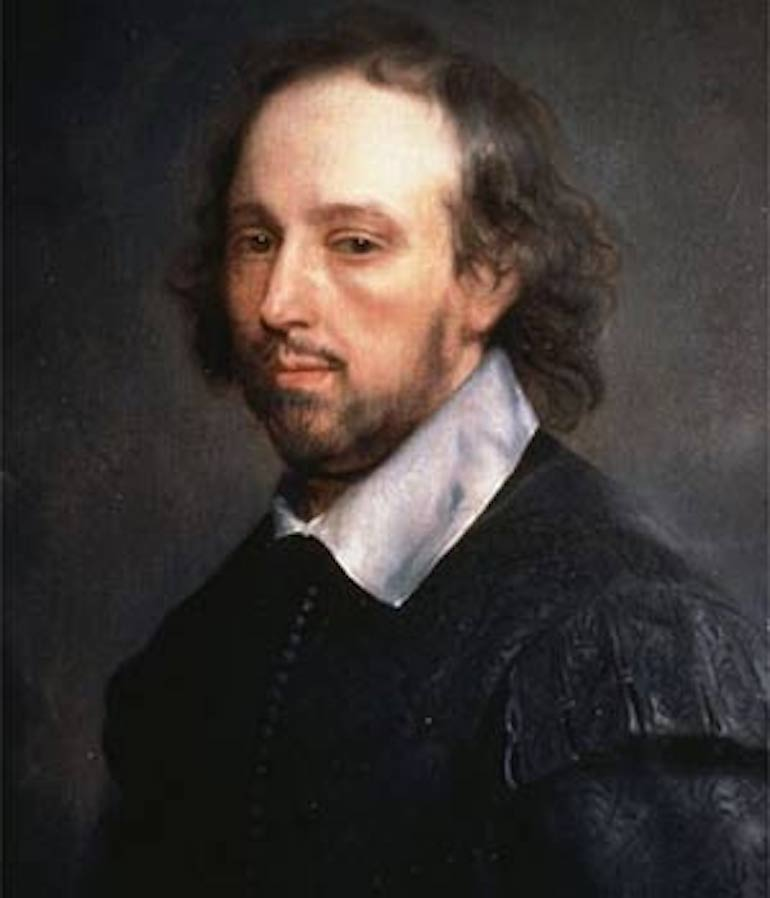 William Shakespeare portrait by Gerald Soest. Photo Credit: © Public Domain via Wikimedia Commons.