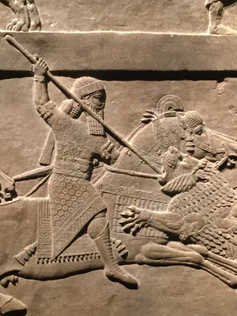 British Museum in London_Ashurbanipal killing Lions. Photo Credit: © Sue Hyde.