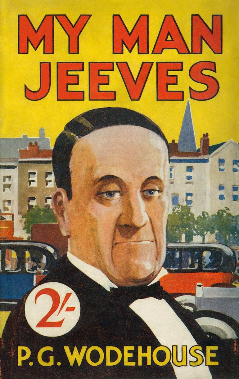 Cover of My Man Jeeves by P. G. Wodehouse. Photo Credit: © Public Domain via Wikimedia Commons.