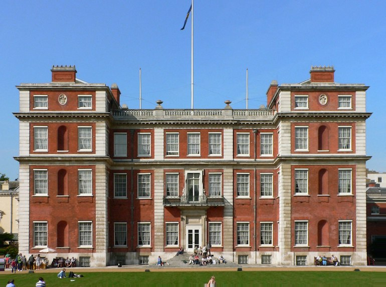Marlborough House - south side. Photo Credit: © Public Domain via Wikimedia Commons.