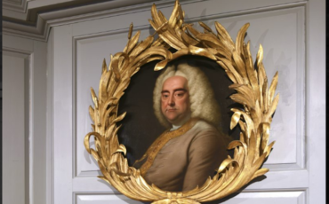 Portrait of George Frederick Handel. Photo Credit: © James Newton.