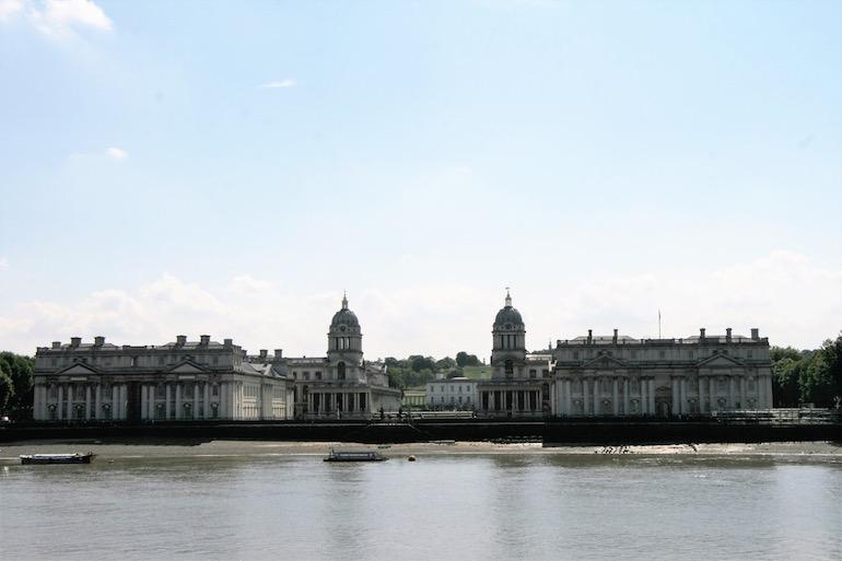 Greenwich from Island Gardens. Photo Credit: © Geoff Marshall.