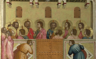 National Gallery in London_Pentecost painting Giotto and Workshop. Photo Credit: ©The National Gallery.
