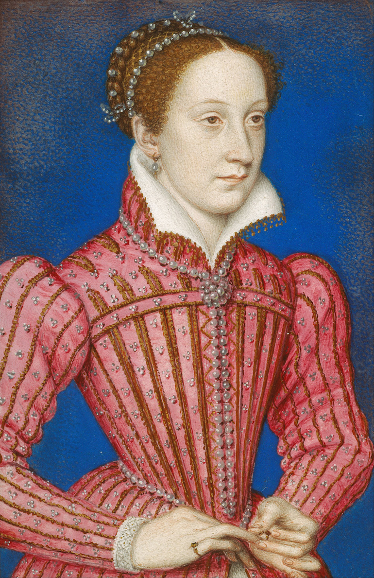 Portrait of Queen Mary of Scots, painted 1558 by François Clouet. Photo Credit: © United States Public Domain via Wikimedia Commons.