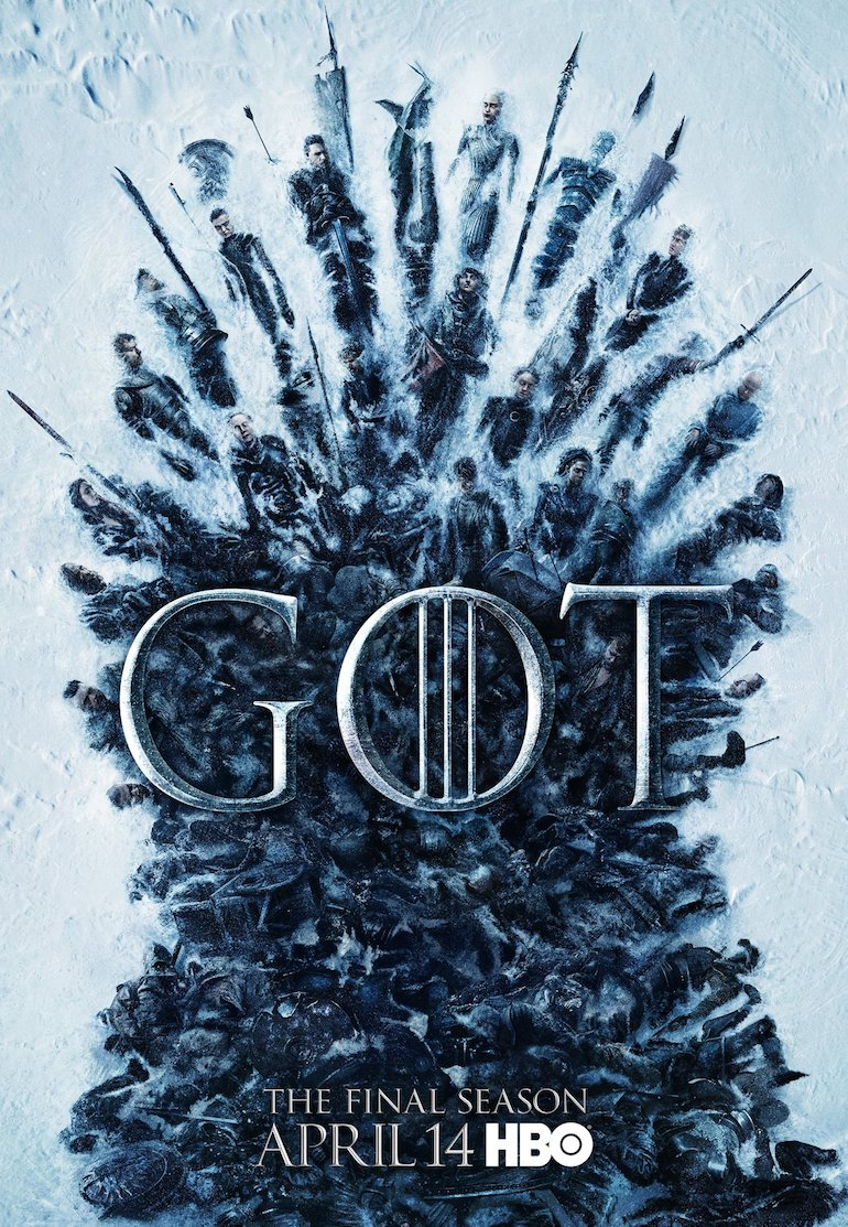 Game of Thrones Season 8 poster. Photo Credit: @HBO.