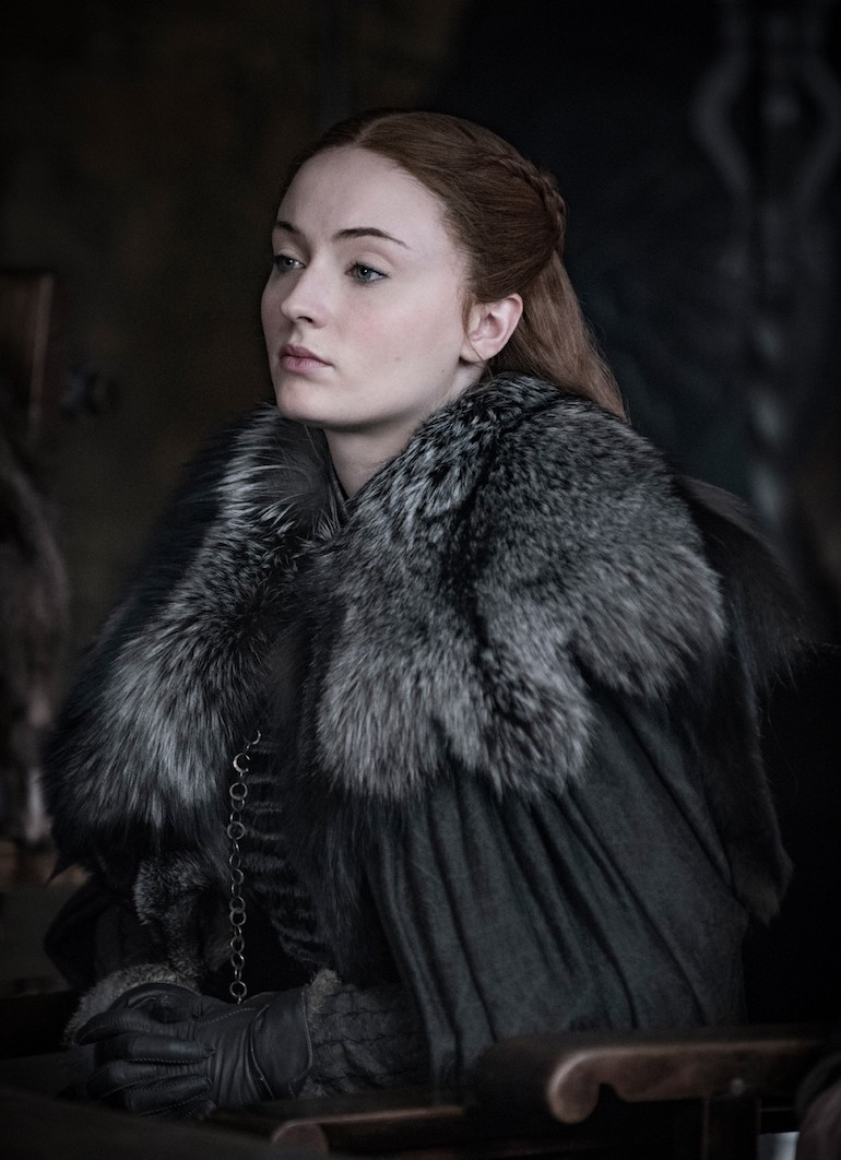 Game of Thrones: Sophie Turner as Sansa Stark. Photo Credit: © Helen Sloan/HBO.