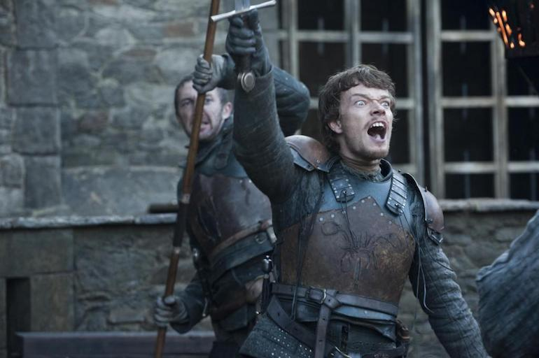 Game of Thrones: Theon Greyjoy. Photo Credit: © Helen Sloan/HBO.