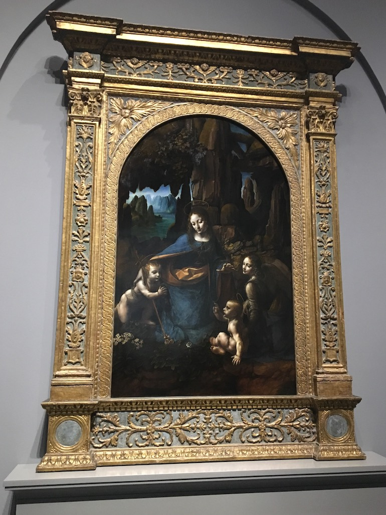 National Gallery in London: Virgin of the Rocks by Leonardo da Vinci. Photo Credit: © Anne Pollak.