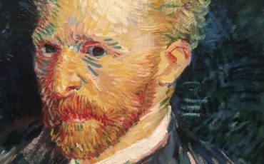Vincent van Gogh self portrait. Photo Credit: © Edwin Lerner.