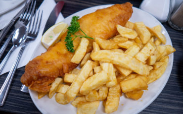 British Fish and chips. Photo Credit: © Matthias Meckel via Wikimedia Commons.