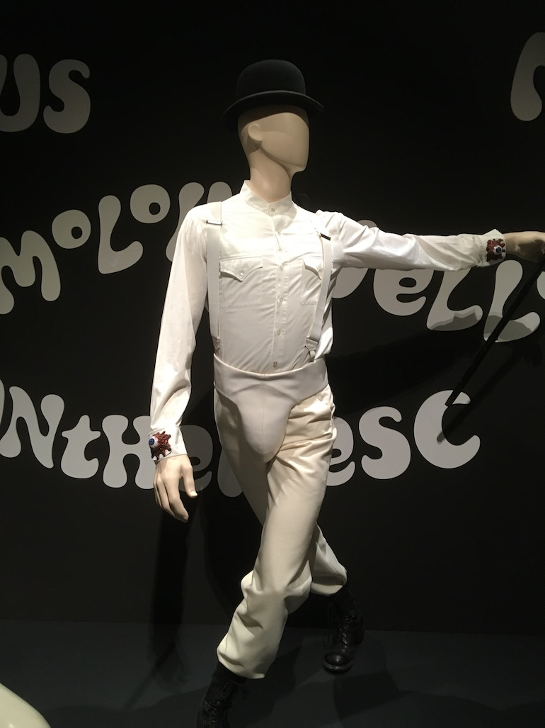 Design Museum in London_Stanley Kubrick Clockwork Orange costume. Photo Credit: © Edwin Lerner.