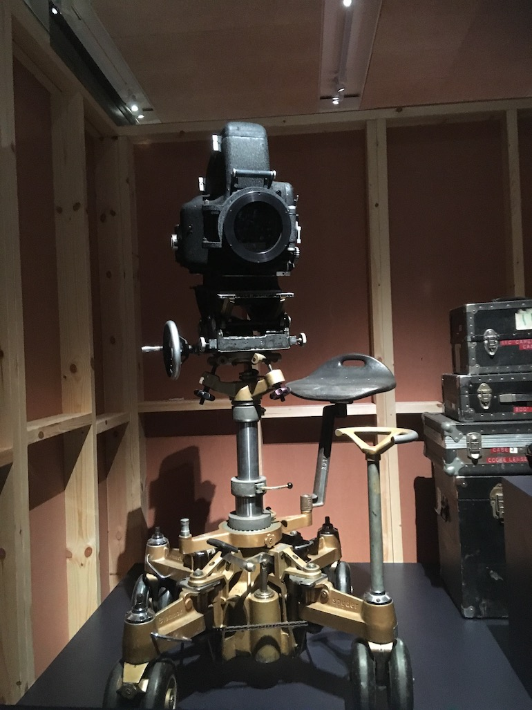 Design Museum in London_Stanley Kubrick early camera. Photo Credit: © Edwin Lerner.