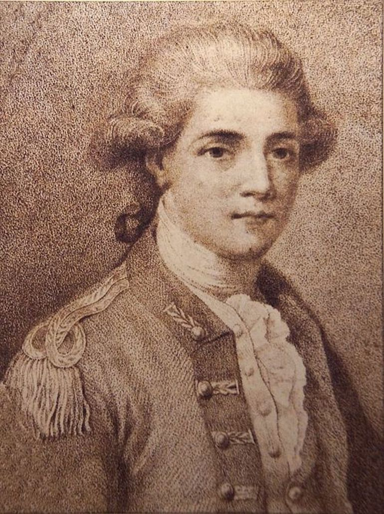 Major John Andre. Photo Credit: © Public Domain via Wikimedia Commons.