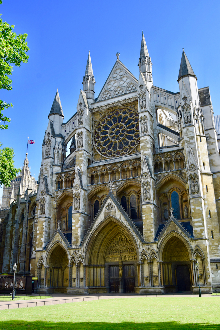 North facade of Westminster Abbey in London. Photo Credit: © David Streets.