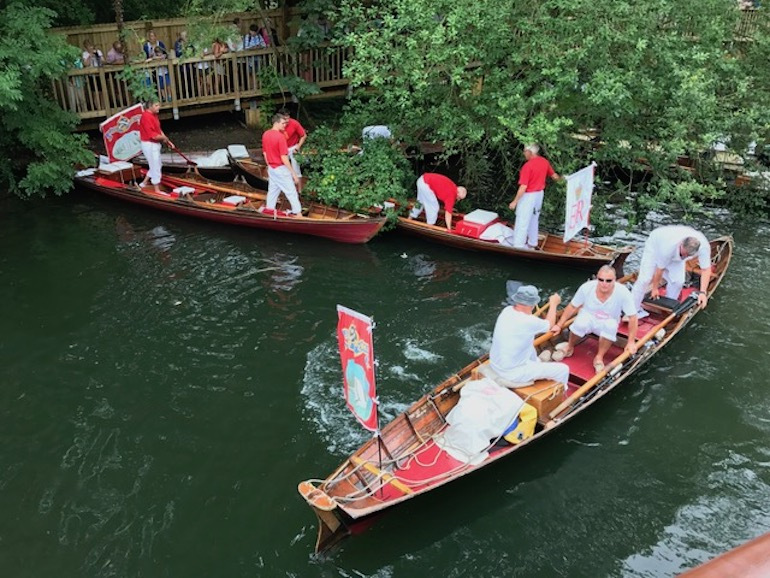 Swan Upping on the River Thames in London. Photo Credit: © Guy Fairbank.