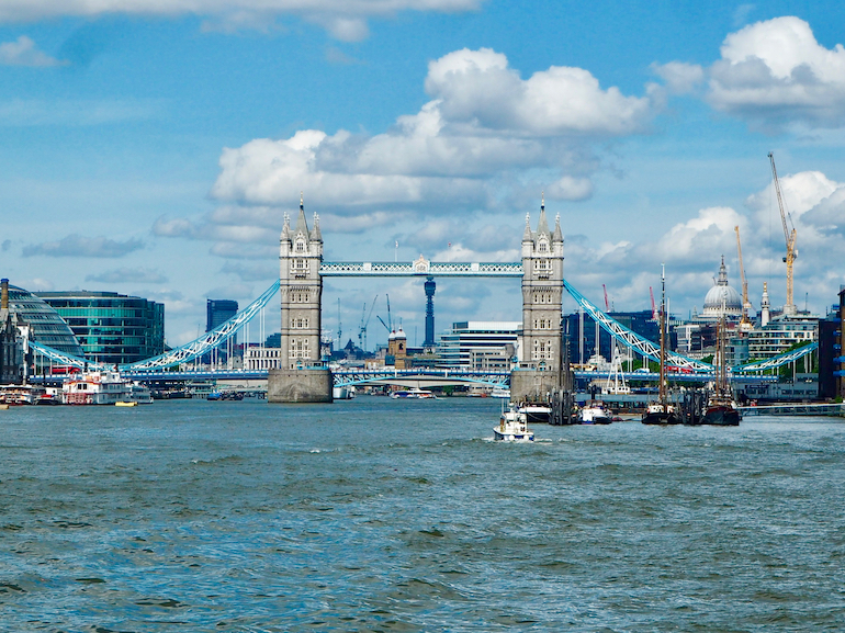 View of Tower Bridge in London.  Photo Credit: © Ursula Petula Barzey.