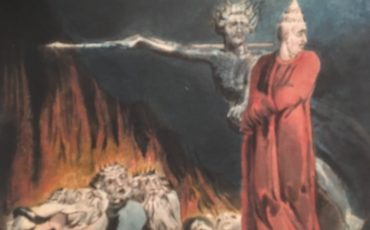 Lucifer and the Pope in Hell painting by William Blake. Photo Credit: © Public Domain.