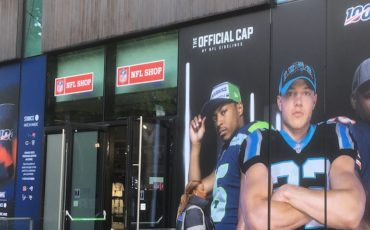 NFL London Games Shop. Photo Credit: © Edwin Lerner.