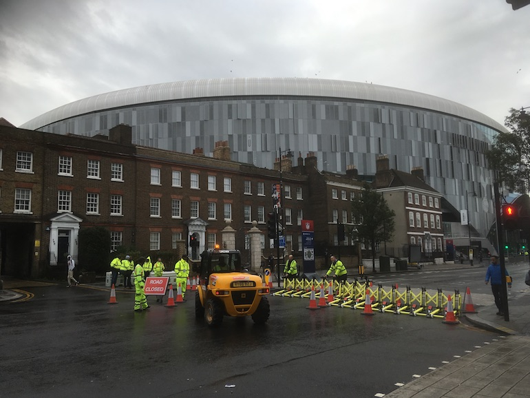 Tottenham Hotspur Stadium. Photo Credit: © Edwin Lerner.